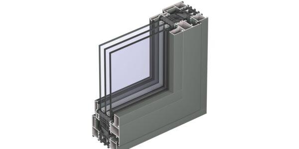 #01103 Reynaers віконна система masterline 8 deco