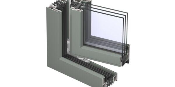 #01105 Reynaers віконна система masterline 8 deco