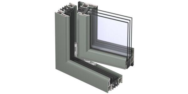 #01109 Reynaers віконна система masterline 8 renaissance