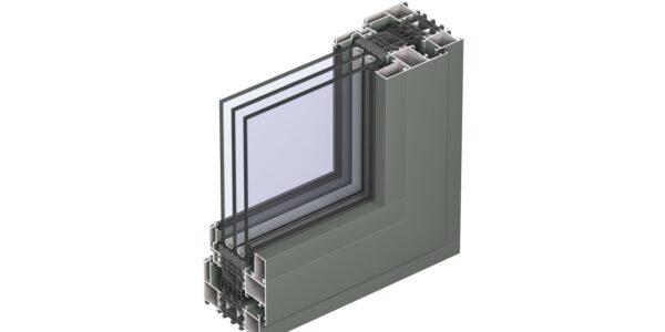 #01107 Reynaers віконна система masterline 8 renaissance