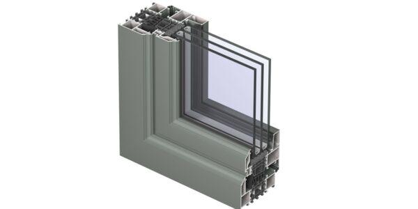 #01108 Reynaers віконна система masterline 8 renaissance